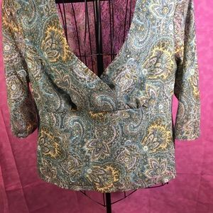 AGB Very Pretty Blouse! Size 2XL